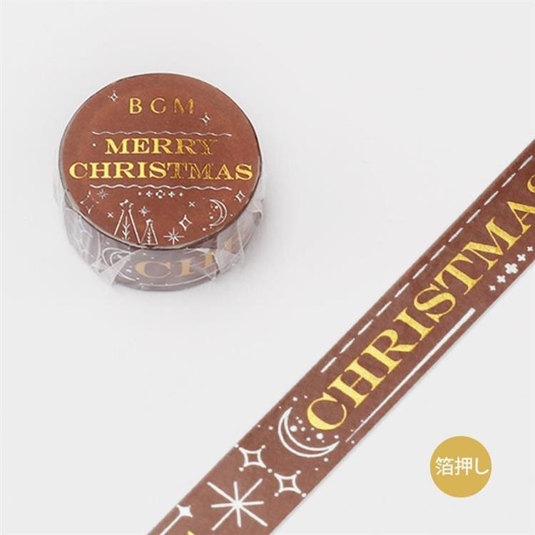 【BGM】2019聖誕限定和紙膠帶-慶祝