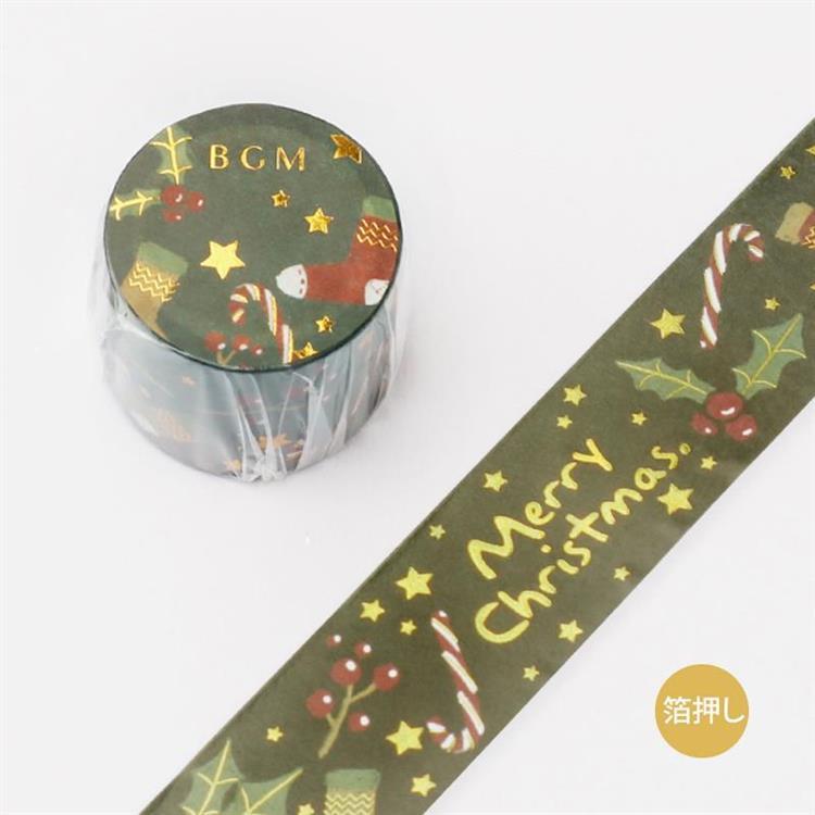 【BGM】2019聖誕限定和紙膠帶-聖誕節