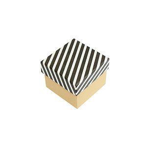 【柏格文具】幾何風禮物盒 S 黑