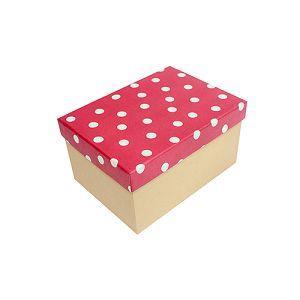 【柏格文具】幾何風禮物盒 L 紅