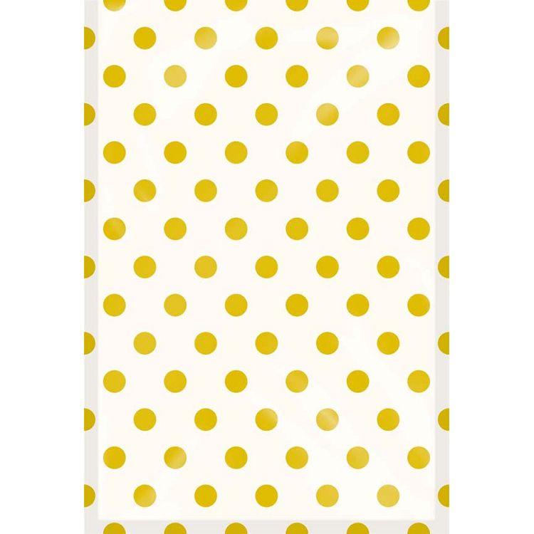 【四季紙品禮品】紙底透明禮物袋(大)-金點