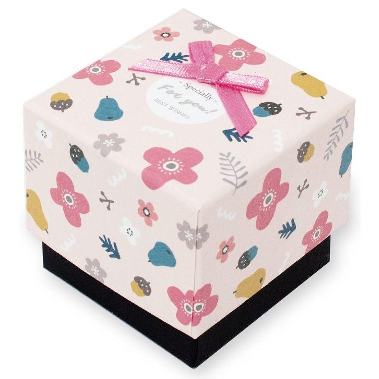 【柏格文具】花果微甜 禮物盒S 粉