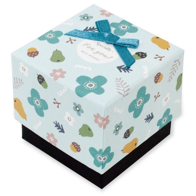 【柏格文具】花果微甜 禮物盒S 藍