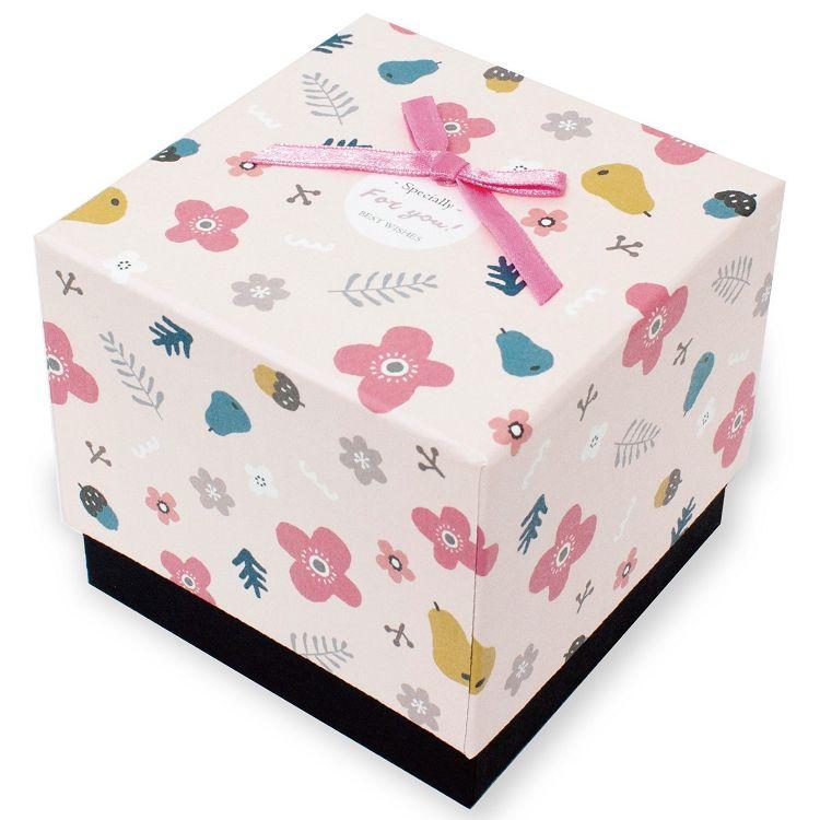 【柏格文具】花果微甜 禮物盒M 粉