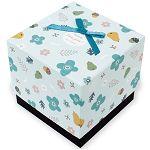 【柏格文具】花果微甜 禮物盒M 藍