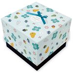 【柏格文具】花果微甜 禮物盒L 藍