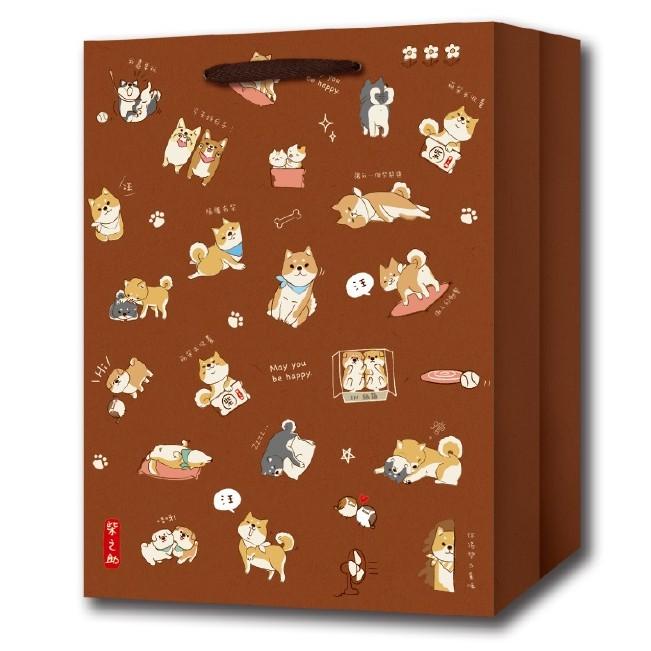 【三瑩】柴之助中牛皮紙袋-咖啡