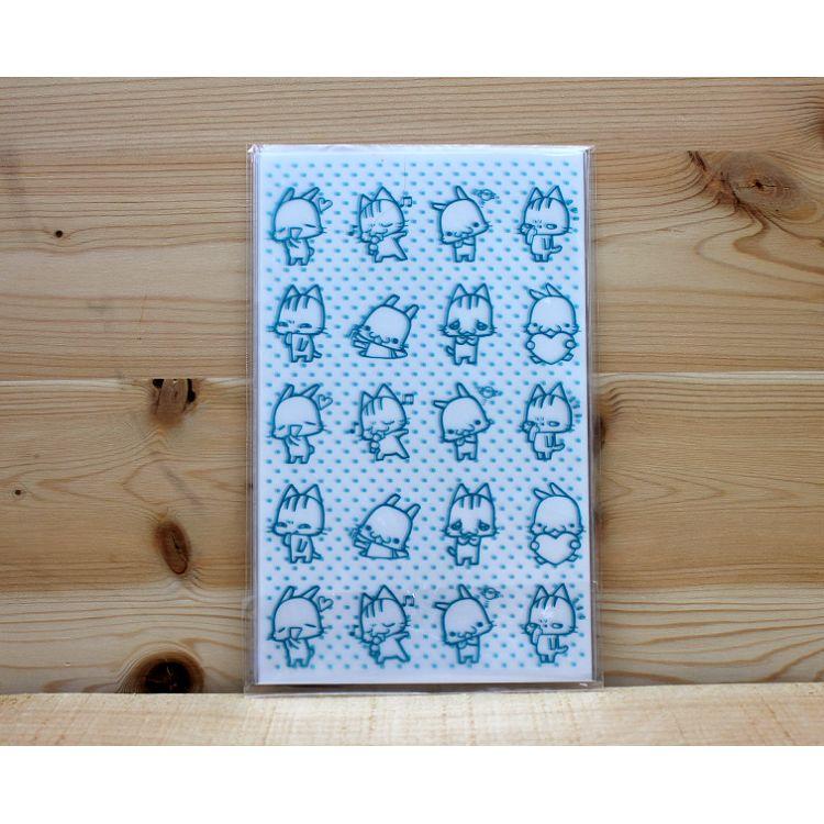 10入禮物袋(中)-喵喵藍