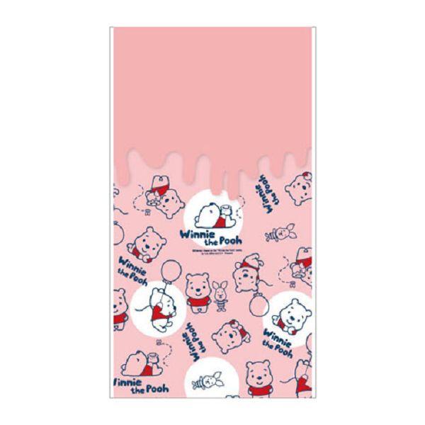 【南寶興】Disney迪士尼透明禮物袋S-維尼粉紅