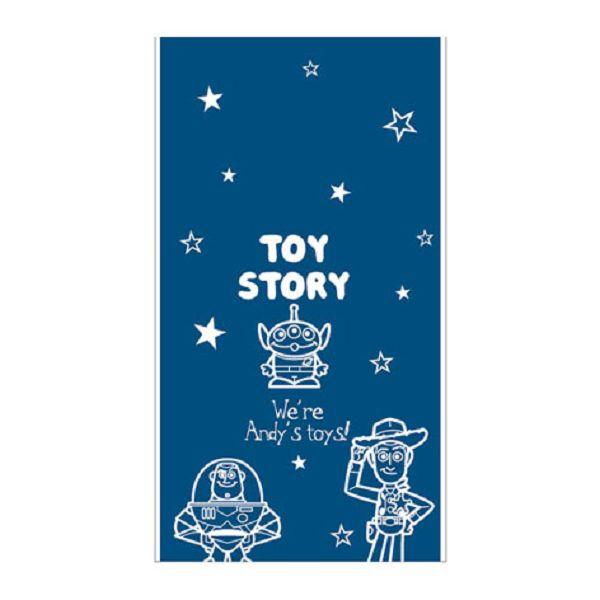 【南寶興】Disney迪士尼透明禮物袋S-玩具總動員藍