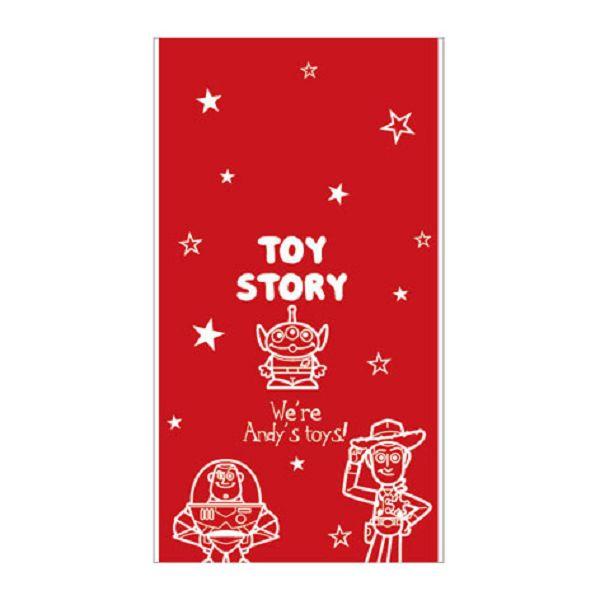 【南寶興】Disney迪士尼透明禮物袋S-玩具總動員紅