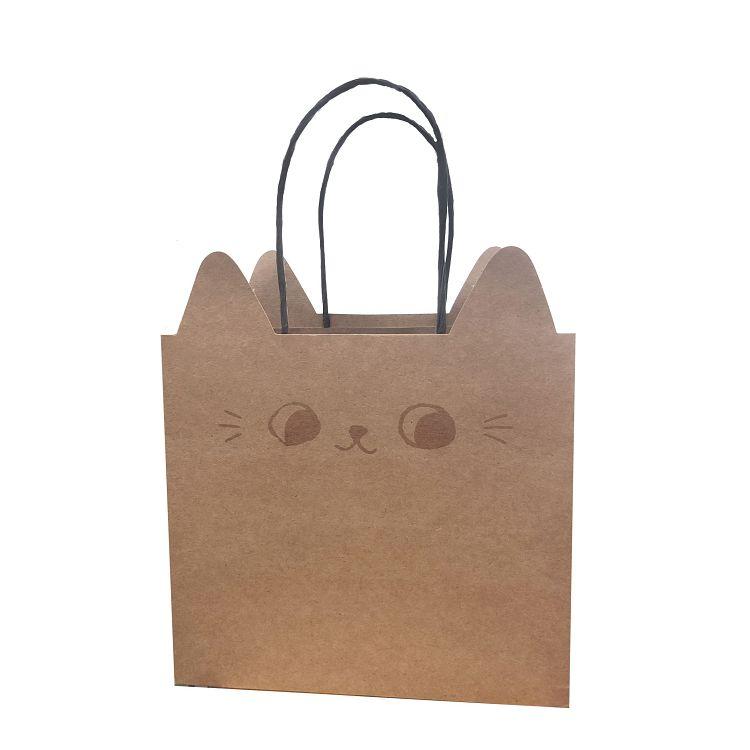 【九達】O-CAT貓耳小紙袋-牛皮