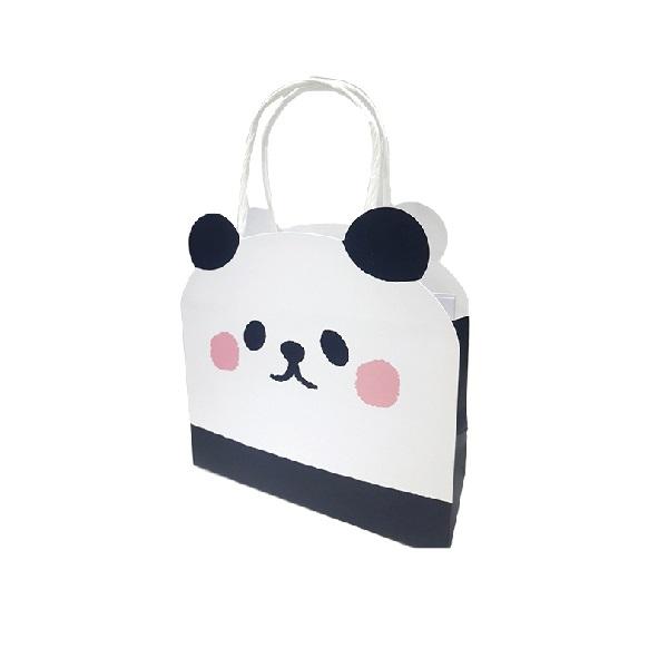 動物造型提袋(小)B-熊貓