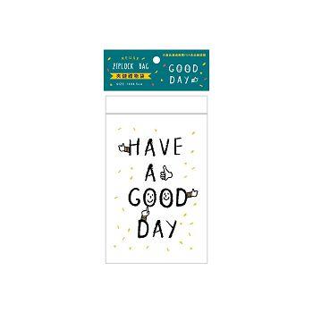 【青青】簡單生活-小夾鏈禮物袋8入-Good Day