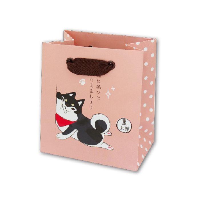 【三瑩】柴之助迷你紙袋-粉