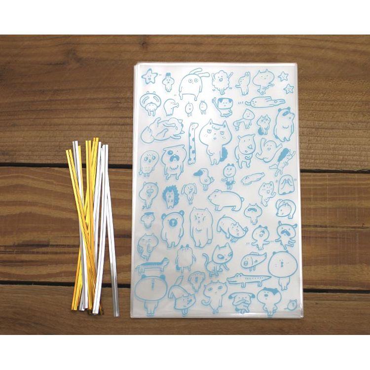 10入禮物袋(中)雀任丹動物