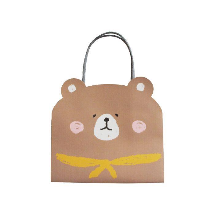 動物造型提袋(小)-熊