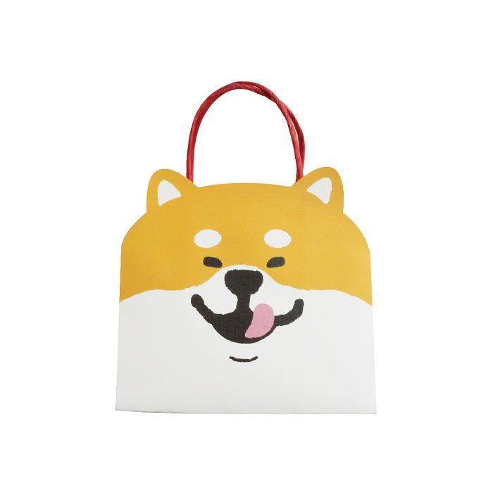 動物造型提袋(小)-柴犬