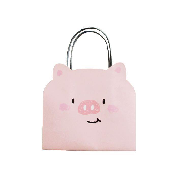 動物造型提袋(小)-豬