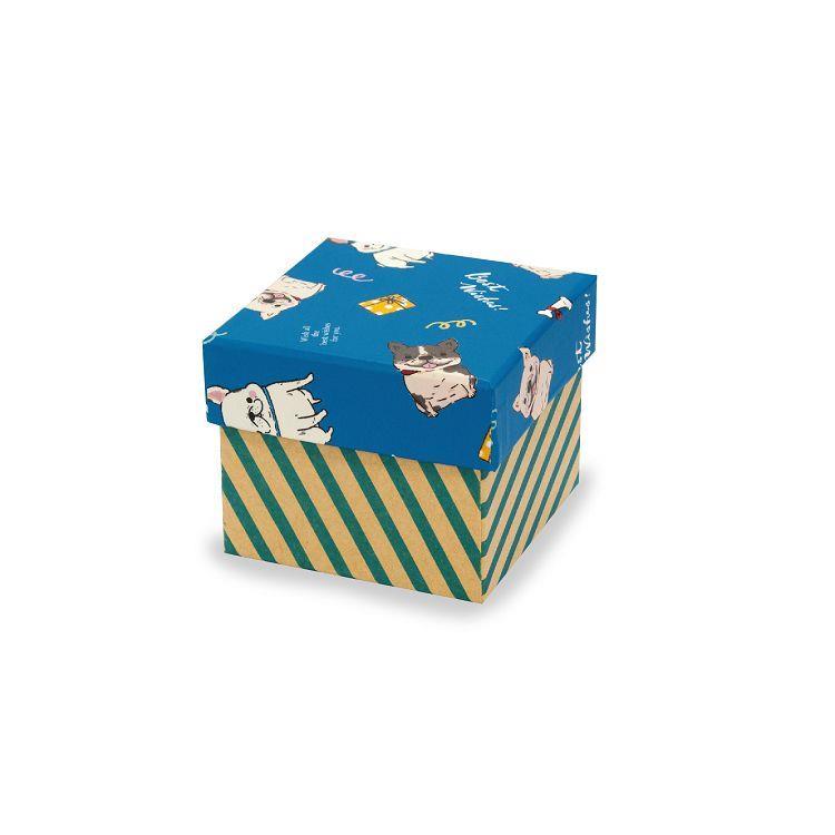 汪旺星球禮物盒S-藍