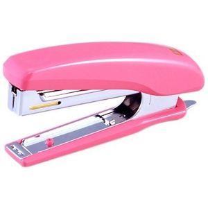 MAX 10D雙排10號釘書機20枚-粉紅