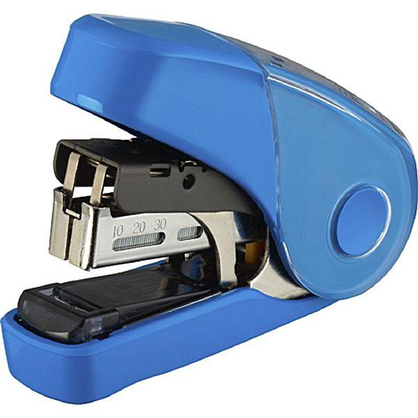 【MAX】10FL3K雙排平針省力10號釘書機32枚-藍