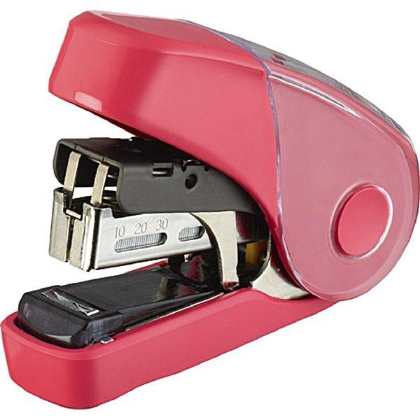 【MAX】10FL3K雙排平針省力10號釘書機32枚-粉紅