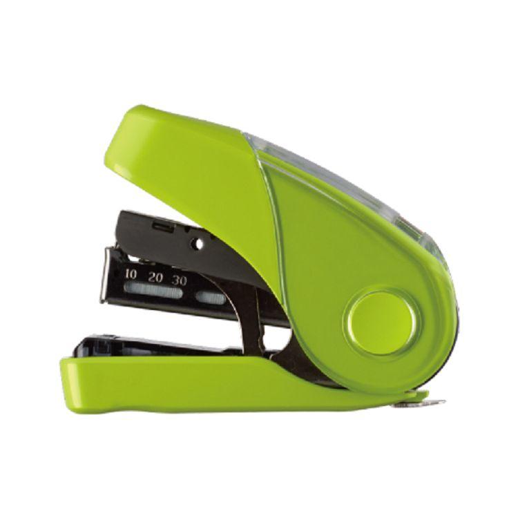 【利百代】MAX 10FL3K雙排平針省力10號釘書機32枚-淺綠