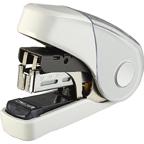 【MAX】10FL3K雙排平針省力10號釘書機32枚-白
