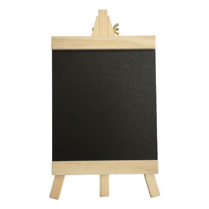 簡單生活-原木黑板留言架-大