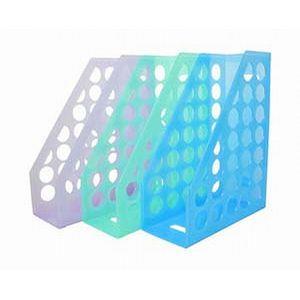 【WIP】6800-9(藍)開放式雜誌箱(果凍色)