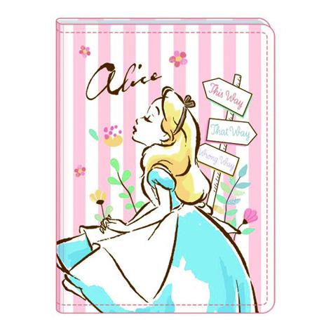 迪士尼車縫隨身名片本-愛麗絲