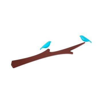 【ABEL力大牌】鳥語樹梢造型磁鐵組-藍鳥