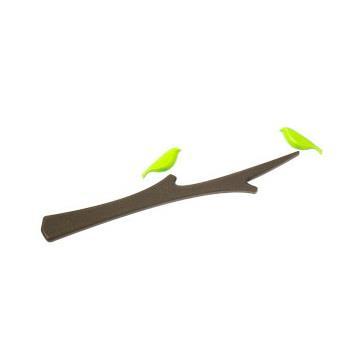 【ABEL力大牌】鳥語樹梢造型磁鐵組-綠鳥