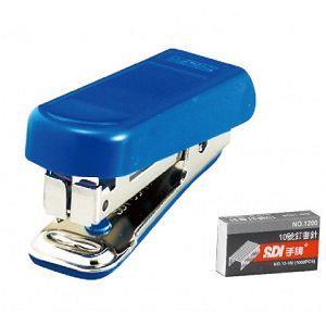 SDI 1111CA 藍 樂活輕鬆型訂書機(附針)