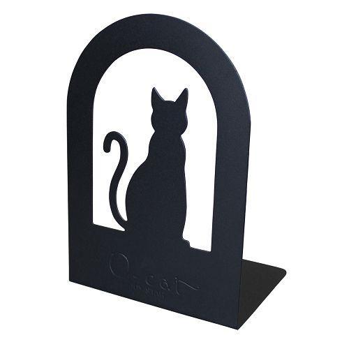 O-Cat造型書架-神秘黑