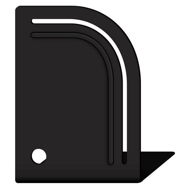 造型書架-黑圓