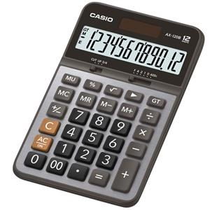 CASIO中款桌上型計算機-銀