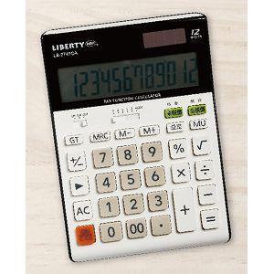 利百代12位元計算機-白