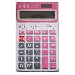 【KOLIN】12位大字鍵大螢幕雙電源計算機-粉