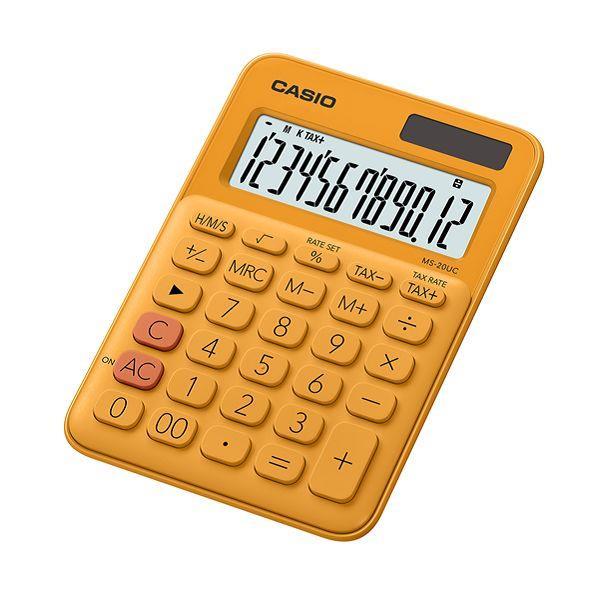 CASIO 馬卡龍計算機-橘