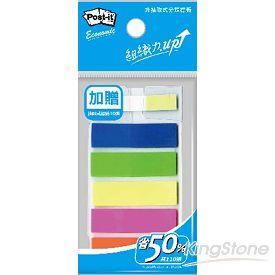 【3M】五色螢光標籤(加送抽取式便條紙)(583-P)
