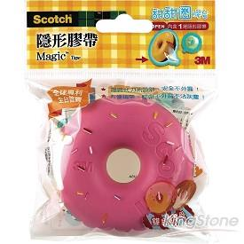 【3M】甜甜圈隱形膠帶-草莓色(810DD-7)