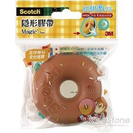 【3M】甜甜圈隱形膠帶-咖啡色(810DD-8)
