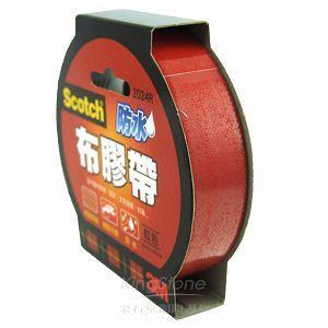 3M 2024R紅色強力防水(布)膠帶(24mmX15Y)