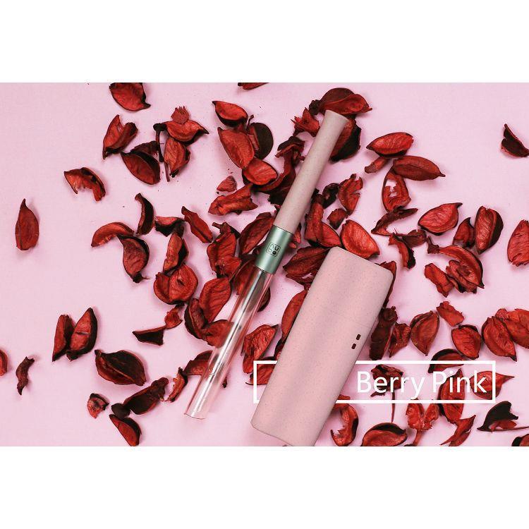 【TRUEGRASSES】nubo吸管_莓果粉(小鯨盒)