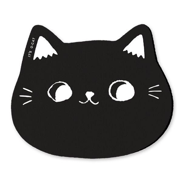 O-cat貓咪杯墊-黑