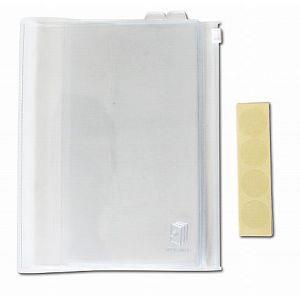 靚色筆記36K-透明夾鏈書衣