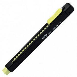 Pentel ZE80A彩色自動塑膠擦黑桿-黃芯