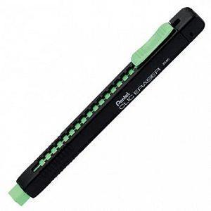 Pentel ZE80A彩色自動塑膠擦黑桿-綠芯